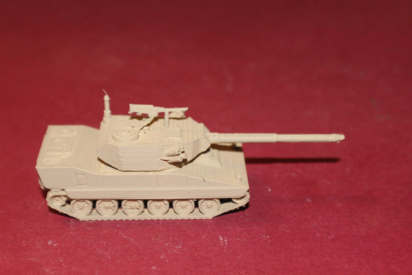 1/87TH SCALE 3D PRINTED U S ARMY M8 BUFORD ARMORED GUN SYSTEM LEVEL 1