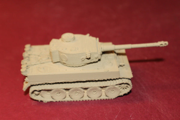 WW II GERMAN TIGER 1 H1 TANK AFRIKA KORPS