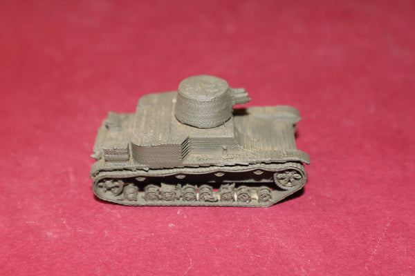 WW II POLISH VICKERS MKE TYPE B LIGHT TANK
