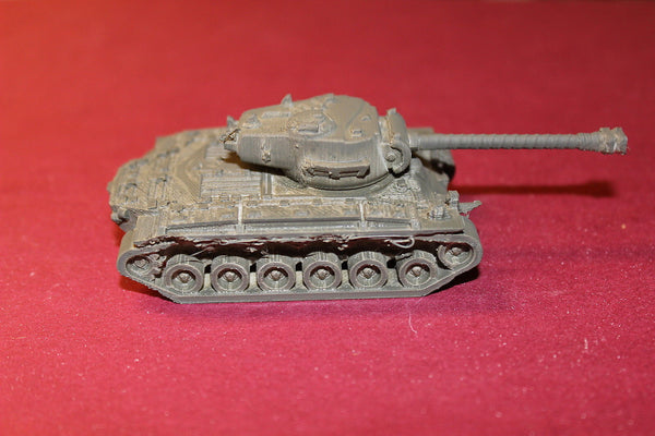 1/72ND SCALE  3D PRINTED WW II U. S. ARMY M 26 PERSHING MEDIUM TANK