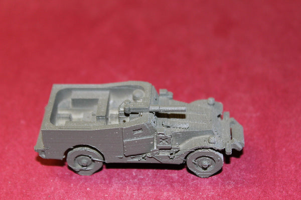 1/72ND SCALE  3D PRINTED VIETNAM WAR U. S. ARMY WHITE M3 SCOUT CAR