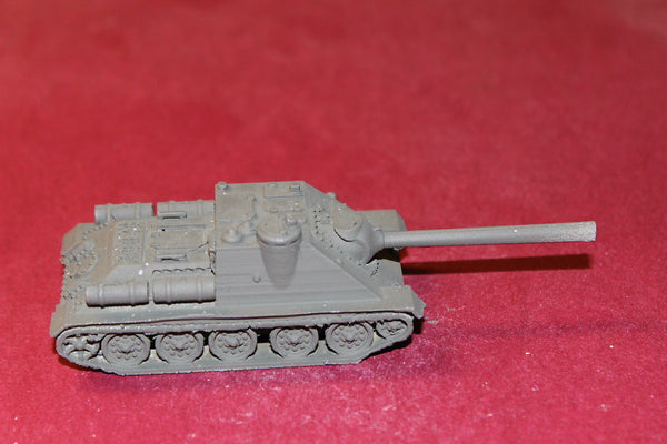 1/72ND SCALE  3D PRINTED WW II RUSSIAN SU-85 85MM TANK DESTROYER