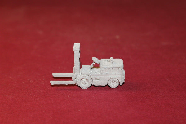 1/160TH SCALE 3D PRINTED 1940'S FORKLIFT