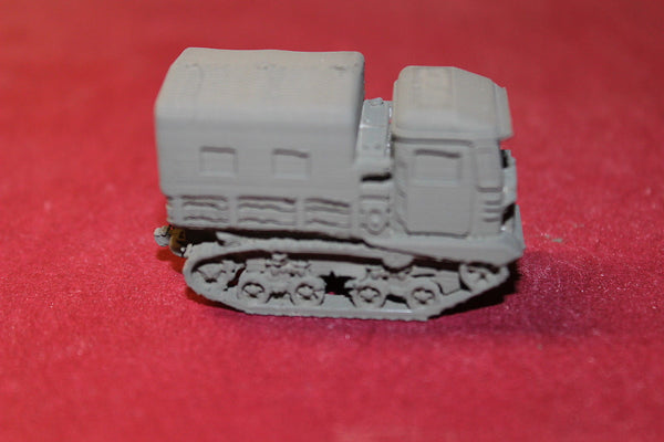 1/72 ND SCALE  3D PRINTED WW II RUSSIAN STZ-5 COVERED ARTILLERY TRACTOR