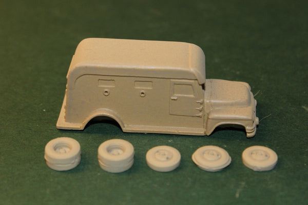 HO SCALE 1940's GMC FC-250 ARMORED TRUCK