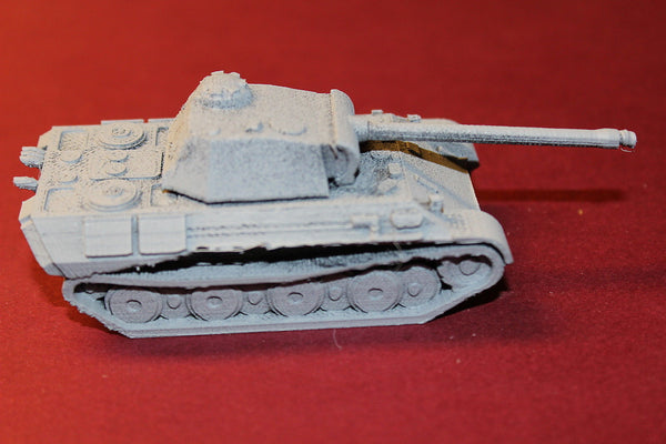 1/72ND SCALE 3D PRINTED WW II GERMAN PANTHER TANK SD.KFZ. 171