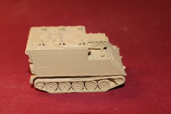 1/72ND SCALE  3D PRINTED ISRAELI SECURITY FORCES M577A1 COMMAND AND CONTROL (TOC)