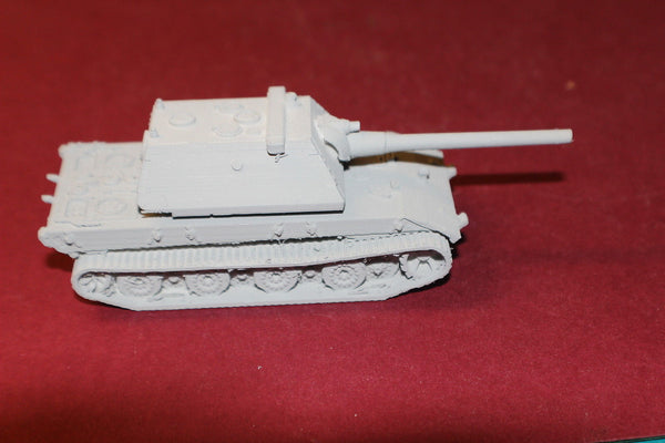 1-87TH SCALE 3D PRINTED WW II GERMAN E-100 KRUPP TURRET NO SKIRTS