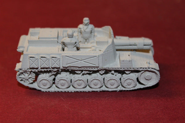 1/87TH SCALE 3D PRINTED WW II GERMAN 15 CM SIG 33 BISON PZKW I AUF P
