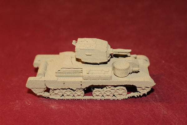 WW II BRITISH CRUISER MK 1 CS WITH SANDSHIELDS