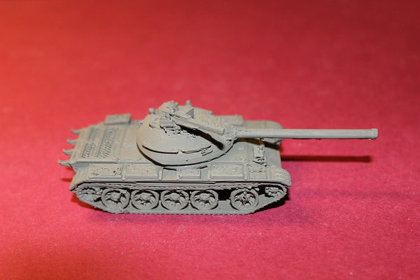 1-72ND SCALE 3D PRNTED POST WAR II SOVIET T 54 REFIT 1951