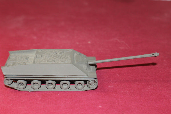 1/72ND SCALE 3D PRINTED WW II FRENCH CANON D'ASSUT LORRIANE SELF PROPELLED GUN