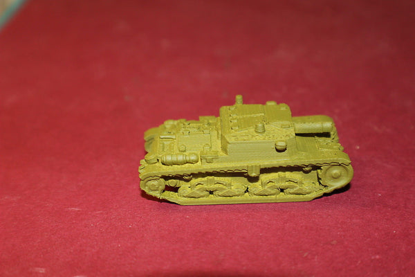 1/72ND SCALE  3D PRINTED WW II ITALIAN SEMOVENTE M41 DA 75-18 SELF PROPELLED GUN