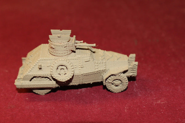 1/72ND SCALE  3D PRINTED WW II BRITISH MH AC MK2 RIVETED OPEN TURRET