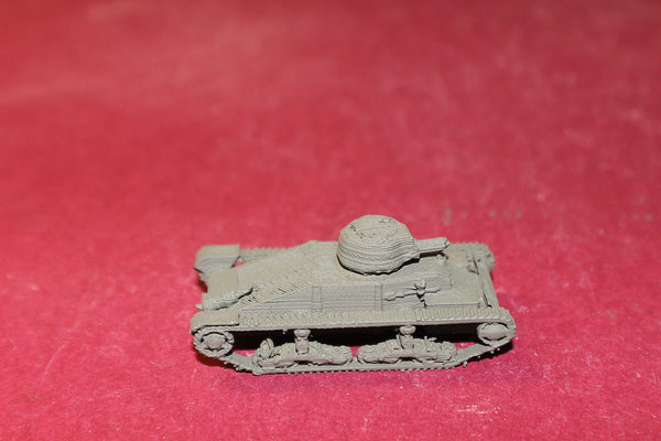 1/72ND SCALE  3D PRINTED WW II BRITISH MATILDA I MK I (A11) INFANTRY TANK