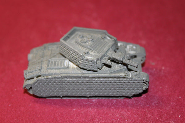 1/72ND SCALE  3D PRINTED WW II HUNGARIAN ARMY TURAN II WITH SKIRTS MEDIUM TANK
