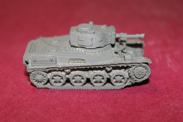 1/72ND SCALE  3D PRINTED WW II HUNGARIAN TOLDI I WITH 20 MM GUN