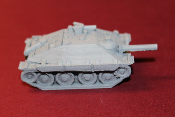 1/87TH SCALE 3D PRINTED WW II GERMAN JAGDPANZER 38 (SD.KFZ. 1382 (HETZER)