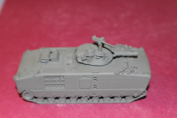 1/72ND SCALE  3D PRINTED VIETNAM USMC LVTH-6 AMPHIBIOUS VEHICLE WITH 105 MM