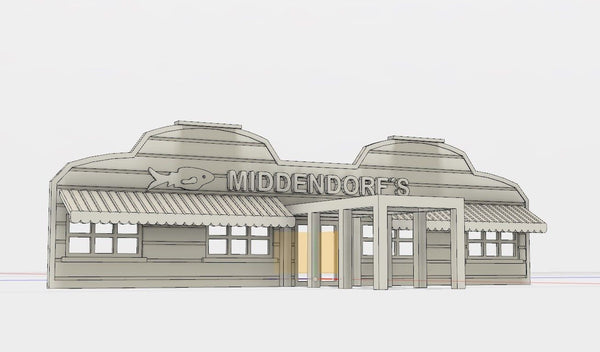 KIT MIDDENDORF'S RESTAURANT FACADE