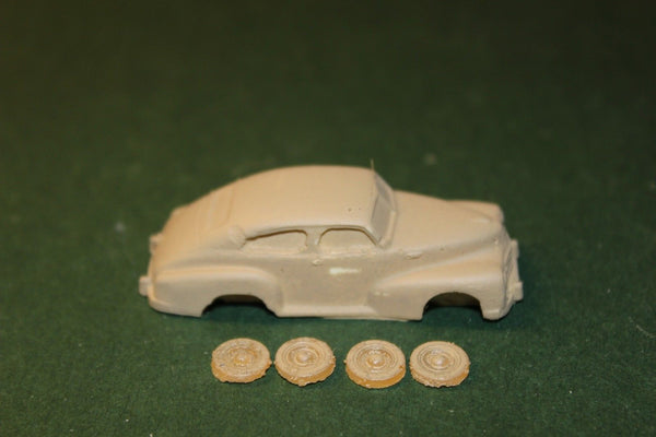 HO SCALE 1947 CHEVY AEROSEDAN RESIN KIT