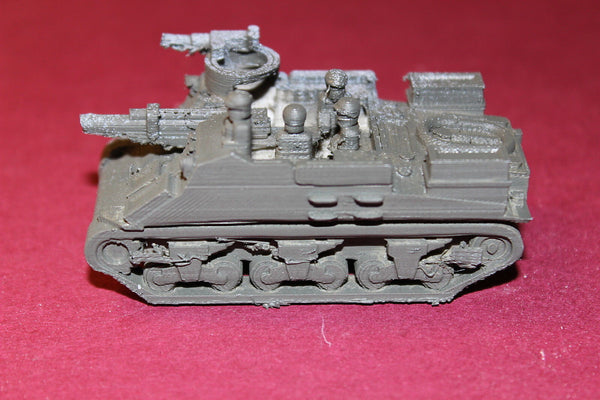 1/87TH SCALE  3D PRINTED WW II U.S.ARMY M 7 PRIEST WITH 105 MM HOWITZER
