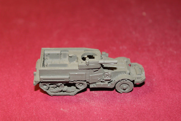 WW II U S ARMY M2A1 HALF TRACK CAR