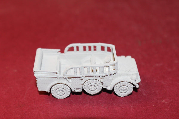 1/87TH SCALE  3D PRINTED WW II GERMAN HORCH 108 TYPE 40 WINDOWS UP