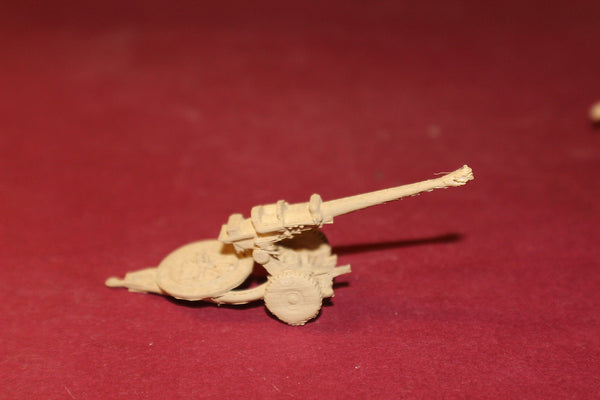 1-87TH SCALE 3D PRINTED IRAQ WAR BRITISH L119 105MM HOWITZER TOWED POSITION