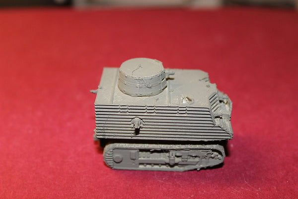 1/72ND SCALE 3D PRINTED WW II NEW ZEALAND BOB SEMPLE TANK
