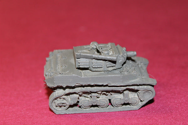 1/100 SCALE  3D PRINTED WW II U.S. ARMY M 8 HOWITZER MOTOR CARRIAGE