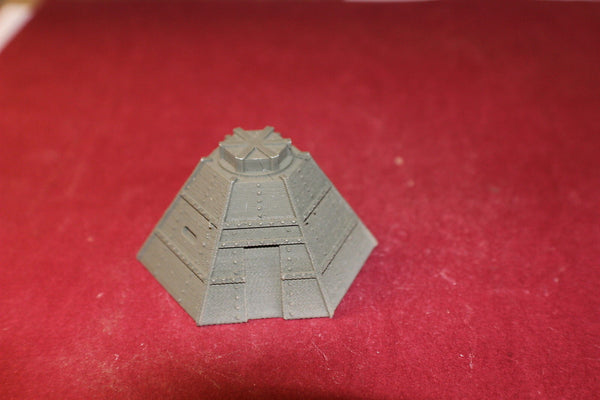 1/87TH SCALE 3D PRINTED WW II JAPANESE STEEL BUNKER