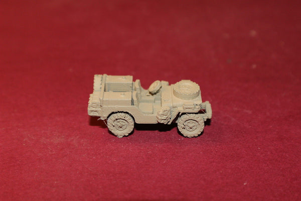 WW II BRITISH SAS JEEP 2 SPARES