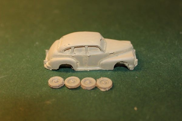 HO SCALE 1947 CHEVY BUSINESS COUPE RESIN KIT