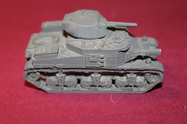 WW II BRITISH M 3 GRANT MEDIUM TANK