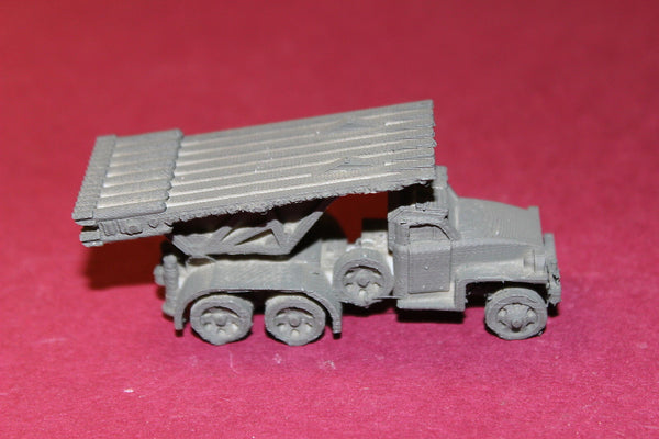 1/72ND SCALE  3D PRINTED WW II U. S. ARMY STUDEBAKER US6 ROCKET LAUNCHER