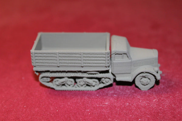 1/72ND SCALE  3D PRINTED WW II GERMAN OPEL-BLITZ-MAULTIER OPEN