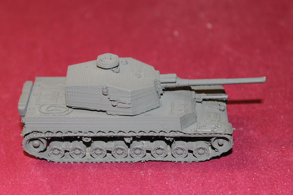 1/87TH SCALE 3D PRINTED WW II JAPANESE TYPE 5 MEDIUM TANK CHI-RI