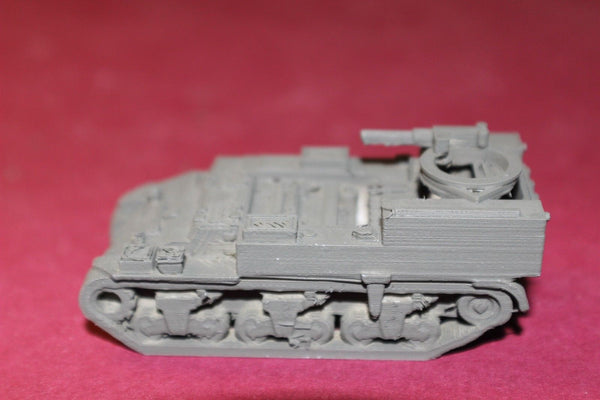1/72ND SCALE  3D PRINTED WW II U.S. ARMY M 30 AMMUNITION CARRIER