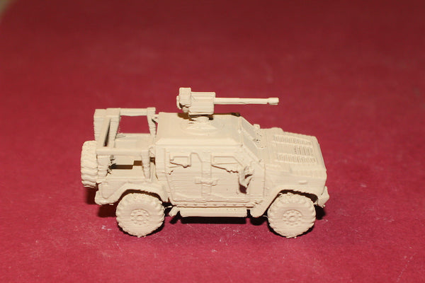 1/72ND SCALE  3D PRINTED U S ARMY OSHKOSH JOINT LIGHT TACTICAL VEHICLE
