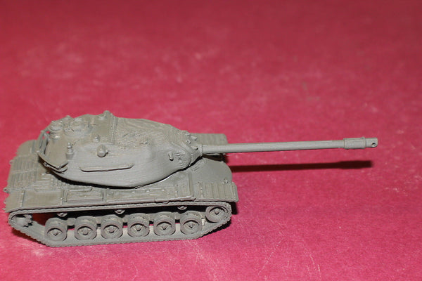 1-72ND SCALE 3D PRINTED COLD WAR U S ARMY M 103A1 COMBAT HEAVY TANK 120 MM