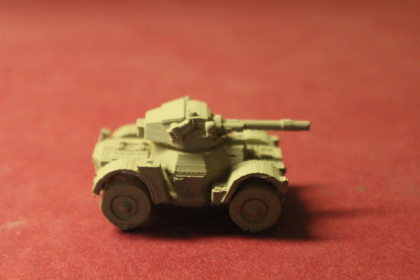 1/87TH SCALE  3D PRINTED WW II BRITISH DAIMLER ARMORED CAR
