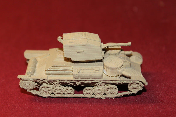 1/87TH SCALE  3D PRINTED WW II BRITISH CRUISER MK I LIGHT TANK