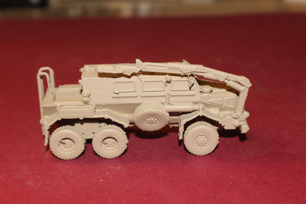 1-72ND SCALE 3D PRINTED IRAQ WAR U S ARMY BUFFALO MINE PROTECTED CARRIER VEHICLE
