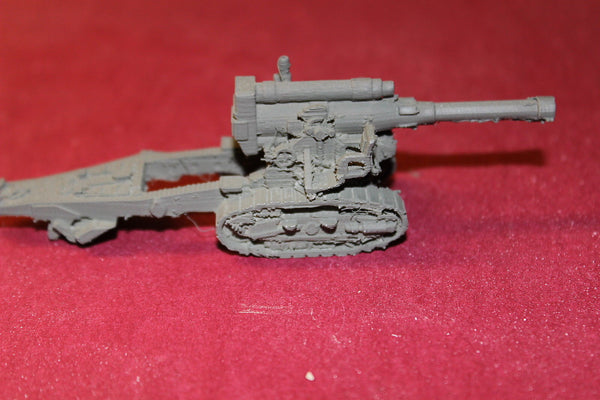 1/100 SCALE 3D PRINTED WW II RUSSIAN 203 MM B4 TRACKED HOWITZER