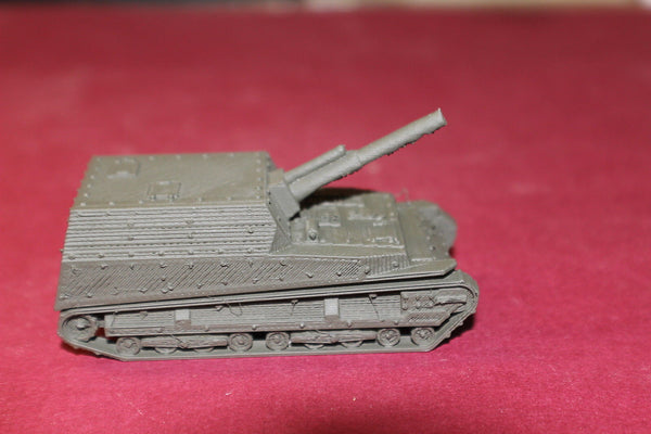 1/72ND SCALE 3D PRINTED  WW II JAPANESE JI-RO SHA 105 MM SELF PROPELLED GUN