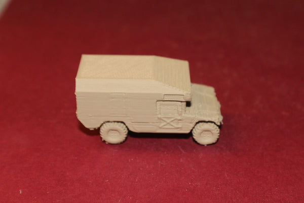 1-87 SCALE  3D PRINTED IRAQ WAR USMC M1123 HMMWV-034 HUMVEE AMBULANCE
