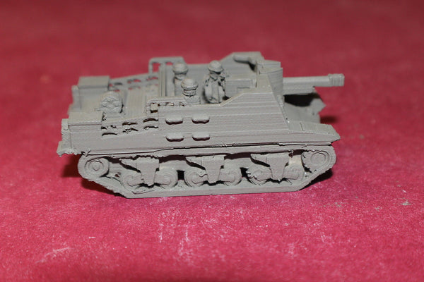 1/87TH SCALE  3D PRINTED WW II BRITISH SEXTON SELF PROPELLED HOWITZER