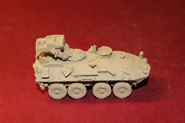 1-87TH SCALE 3D PRINTED IRAQ WAR U. S. MARINE CORPS LAV-AT RETRACTED