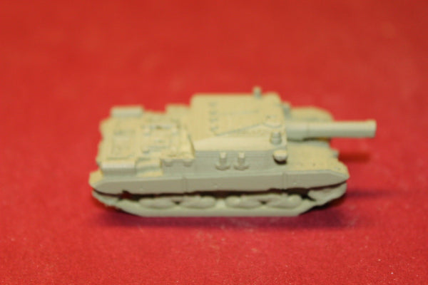1/72ND SCALE  3D PRINTED WW II ITALIAN SEMOVENTE 10525 M43 SELF-PROPELLED GUN